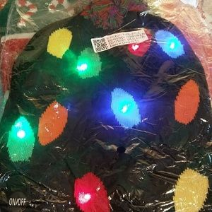 perfectredscloset Accessories - 🎅LED lighted Christmas beanies🎅